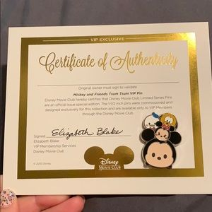 Mickey and friends tsum tsum pin